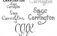 sagetypography